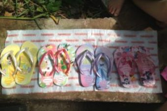 Easter Thongs (Shoes that is)