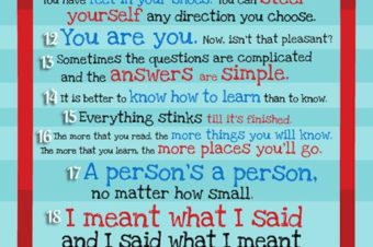 Inspiration from Dr Seuss