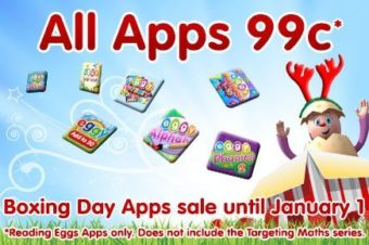 ABC Reading Egg Apps – Boxing Day Sale – SAVE 66%