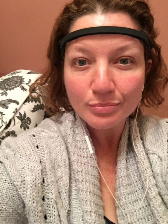 Loving my new My first mediation session with MUSE The Brain Sensing Headband. It is so amazing and really helps me relax. Do you meditate? Does it work for you?