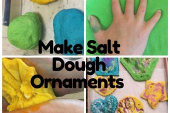 Make Salt Dough Ornaments