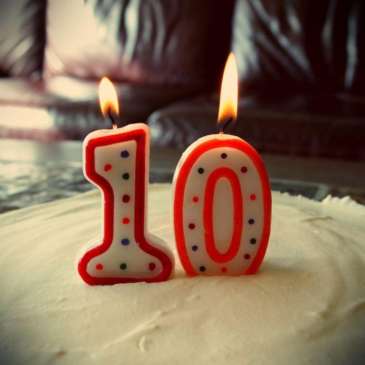 Happy Birthday to us, Happy birthday to the blog, Happy Birthday.... we are turning 10 this year!