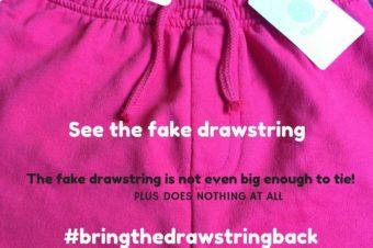 Bring The Drawstring Back!