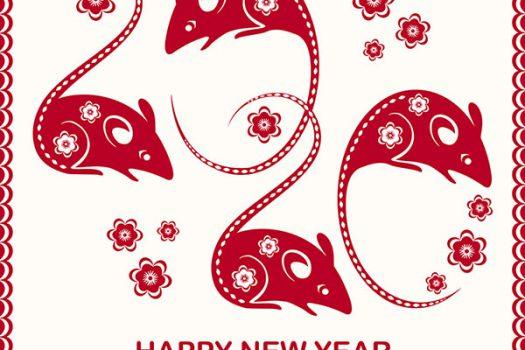 FREE DOWNLOAD: Year of the Rat Lantern Craft