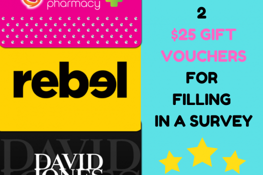 Survey to WIN 2 x $25 Gift Vouchers – New Website Coming Soon!