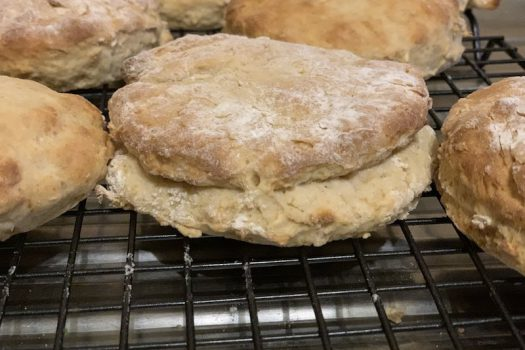 Clone Scones for Star Wars Day