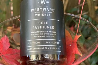 WIN WestWard Whiskey & Mr Black Cold Fashioned Cocktail