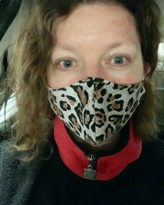 I am now wearing a face mask to be extra safe. You never know right? Plus many places are wanting you to wear one so you can enter their business.