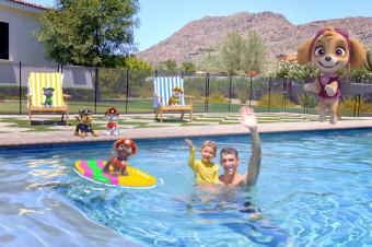 Paw Patrol & Michael Phelps Keeping us Water Safe!