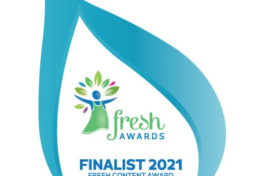I'm a Finalist in the Fresh Content Awards